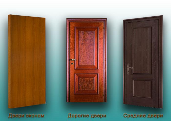 цены на двери в Москве